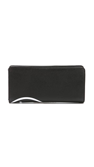 Marc by Marc Jacobs Sophisticato Unsmiley Tomoko Wallet