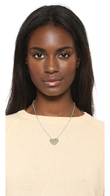Marc by Marc Jacobs Broken Hearted Pendant Necklace