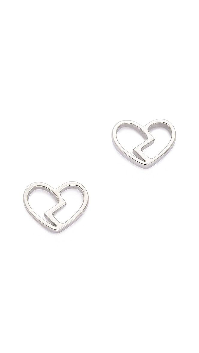 b597dde01 Marc by Marc Jacobs Broken Heart Stud Earrings | SHOPBOP