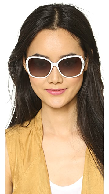 Marc by Marc Jacobs Oversized Sunglasses