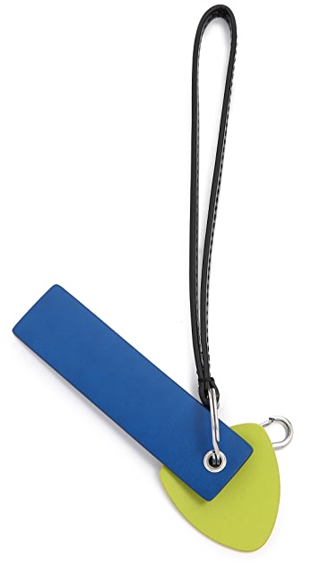 Marc by Marc Jacobs Colorblocked Keychain