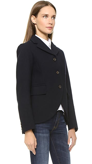 Marc by Marc Jacobs Norman Bonded Wool Jacket