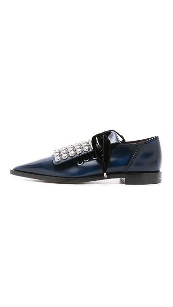 Marc by Marc Jacobs Ботинки на шнурках Viv с заклепками