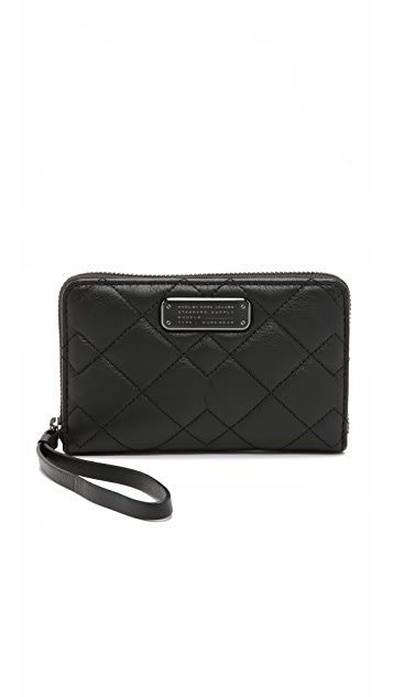Marc by Marc Jacobs Crosby Quilt Wingman Wallet