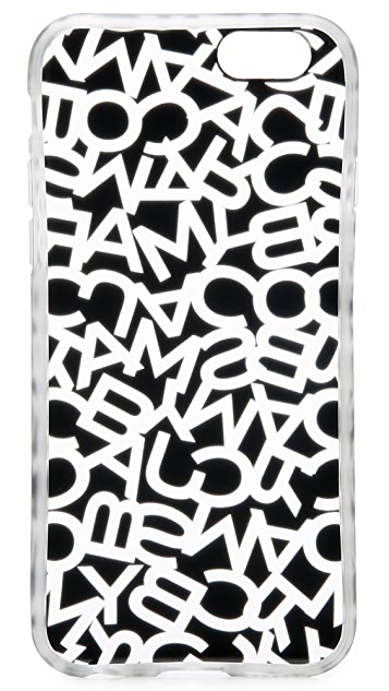 Marc by Marc Jacobs Scrambled Logo iPhone 6 / 6s Case