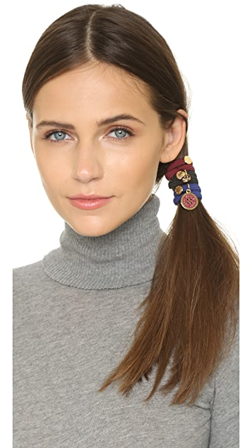 Marc by Marc Jacobs Button & Smile Cluster Ponies