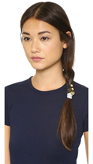 Marc by Marc Jacobs Logo Disco Cluster Ponies