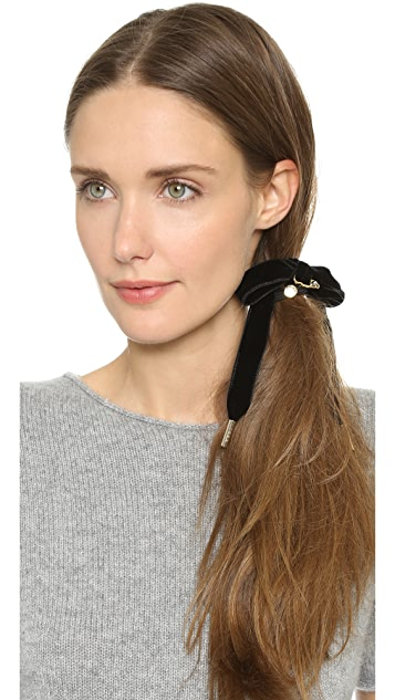 Marc by Marc Jacobs Bow & Pin Hair Tie