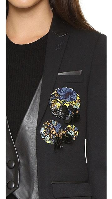Marc by Marc Jacobs Embellished Badge Set