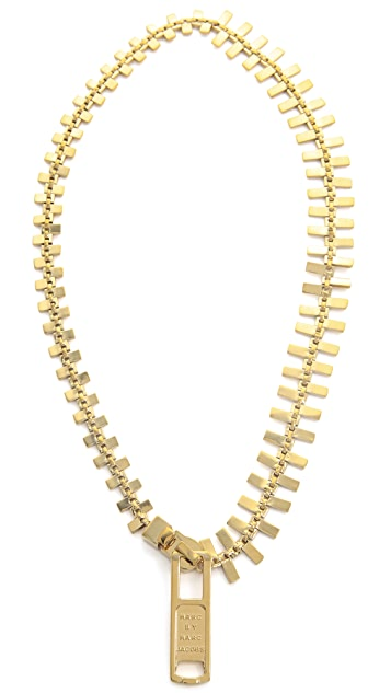 Marc by Marc Jacobs Lost & Found Zipper Necklace