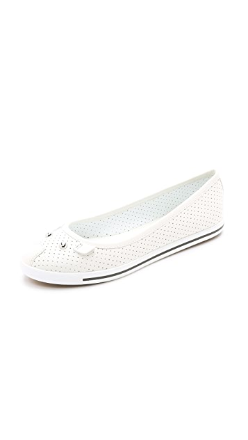 Marc by Marc Jacobs Constructed Ballerina Flats