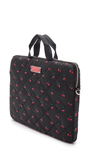Marc by Marc Jacobs Crosby Quilted Nylon Fruit 15