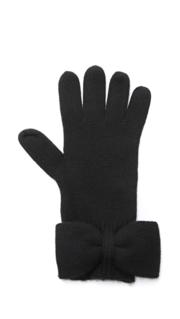 Marc by Marc Jacobs Cashmere Alice Bow Gloves