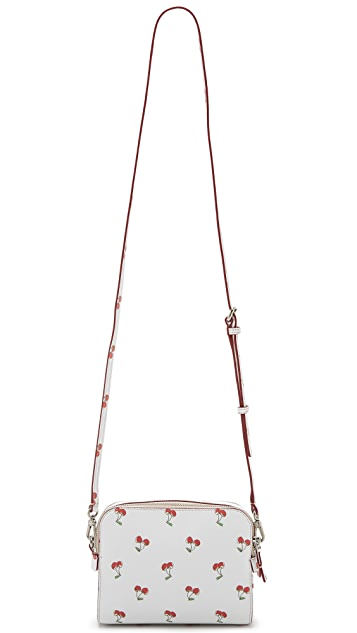 Marc by Marc Jacobs Double Zip Cherry Cross Body Bag