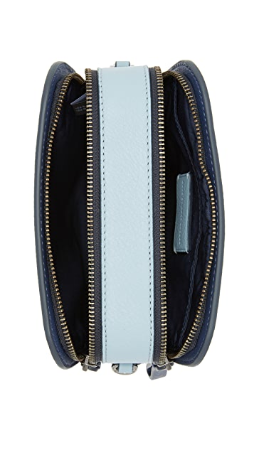 Marc by Marc Jacobs Lux Double Zip Cross Body Bag