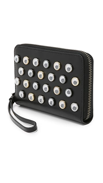 Marc by Marc Jacobs Googly Eye Wingman Wallet