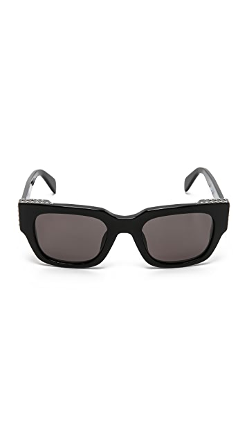 Marc by Marc Jacobs Studded Sunglasses