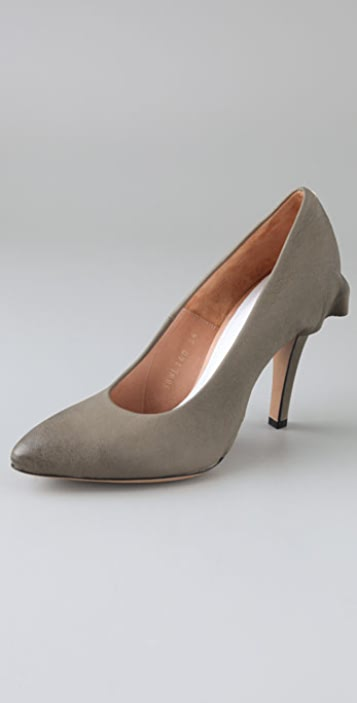 Maison Margiela Skirted Leather Pumps