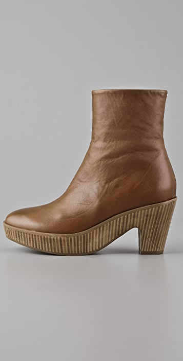 Maison Margiela Vertical Stack Clog Booties