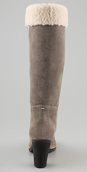Maison Margiela Shearling Shaft Boots