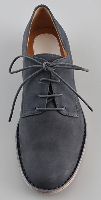 Maison Margiela Raw Edge Handmade Oxfords