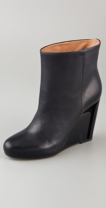 Maison Margiela Cutout Wedge Booties