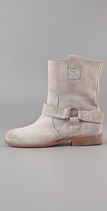 Maison Margiela Motorcycle Ankle Boots