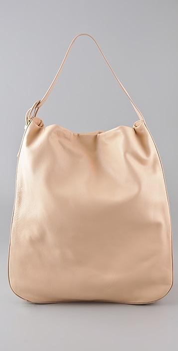 Maison Margiela Leather Hobo Bag