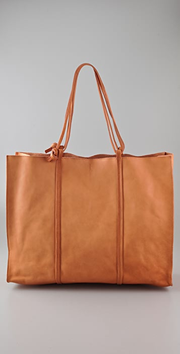 Maison Margiela Leather Tote Bag