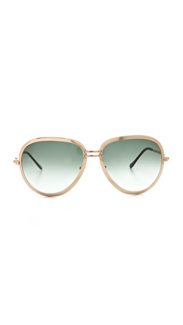 Maison Margiela Replica Turkey Biseau Sunglasses