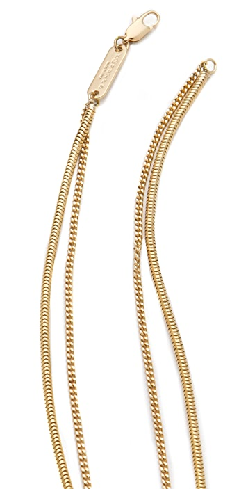 Maison Margiela Double Layer Necklace