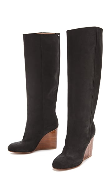 Maison Margiela Plexi Covered Wedge Boots
