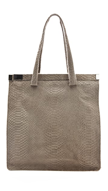 Maison Margiela Zip Lock Haircalf Tote