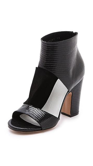 Maison Margiela Peep Toe Strap Sandals