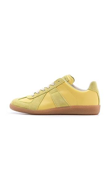 Maison Margiela Lime Sneakers
