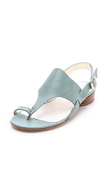Maison Margiela Strapped Flat Sandals