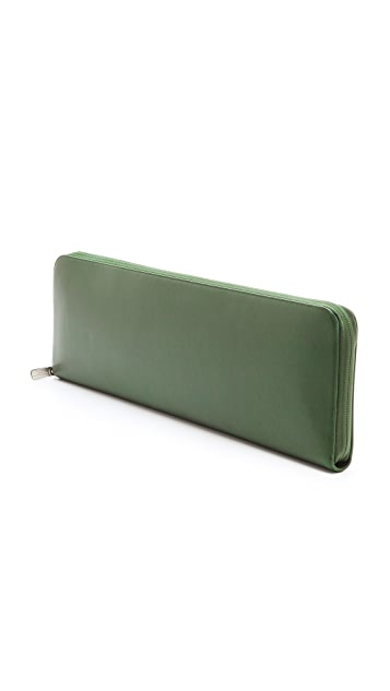 Maison Margiela Leather Oversized Clutch