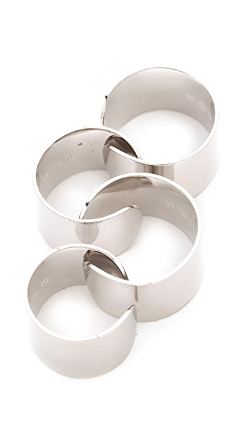Maison Margiela 4 Finger Rings
