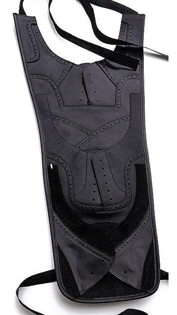 Maison Margiela Leather Bib