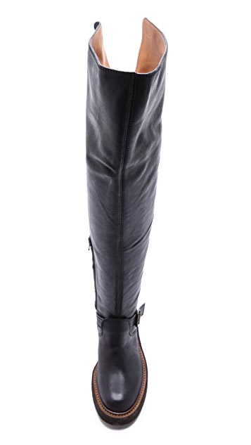 Maison Margiela Thigh High Boots