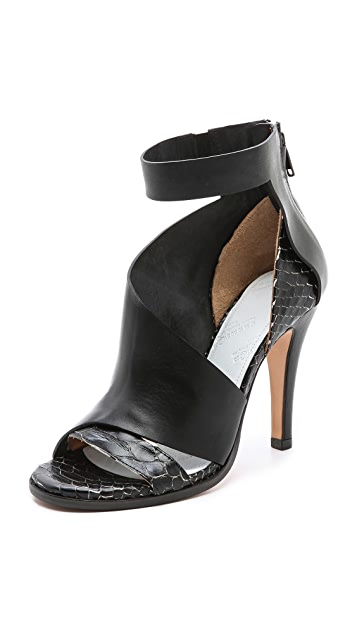 Maison Margiela Layered Leather Sandals