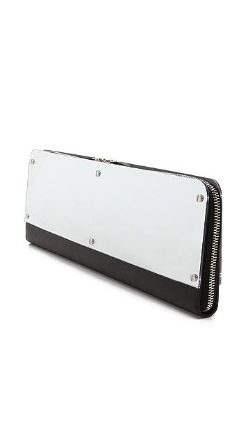 Maison Margiela Leather Mirror Clutch