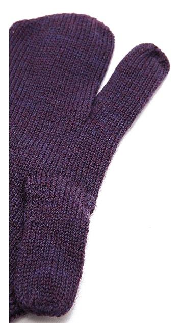Maison Margiela Wool Mittens