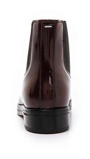 Maison Margiela Leather Boots