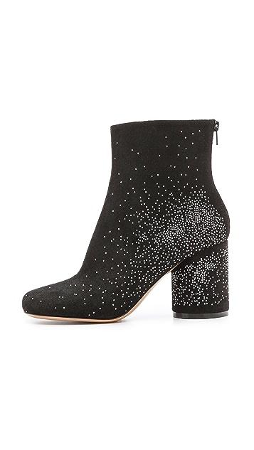 Maison Margiela Spangled Round Heel Booties