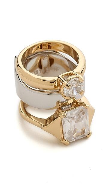Maison Margiela Double Faux Diamond Ring