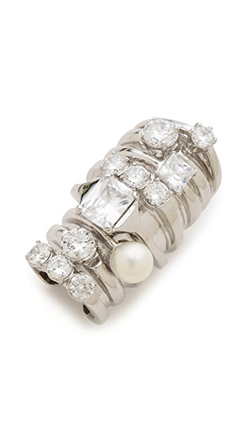Maison Margiela Stacked Faux Diamond Ring