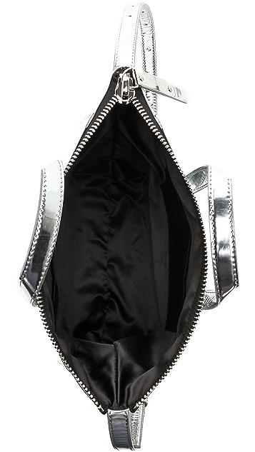 Maison Margiela Mirrored Faux Leather Tote
