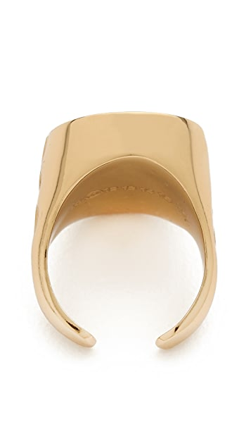 Maison Margiela Chain Embossed Ring