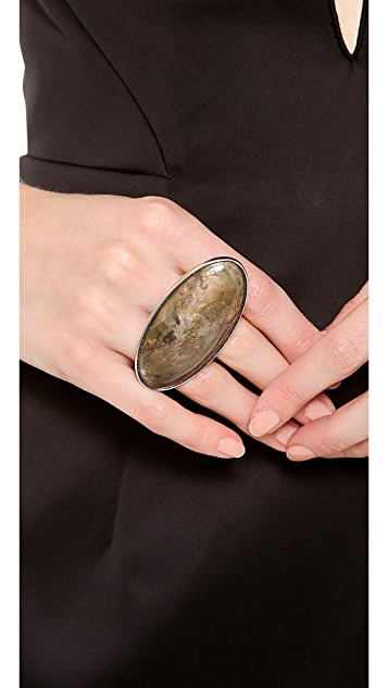 Maison Margiela Rust Effect Ring
